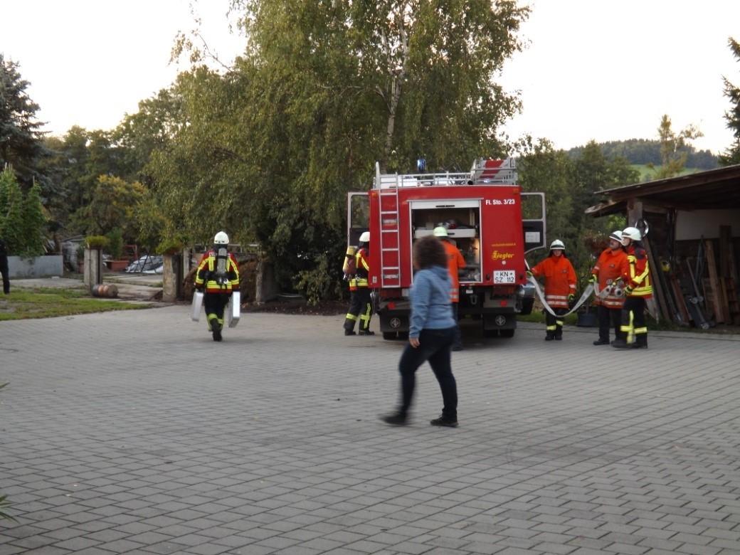 Dienstag, 12.09.2017 - Feueralarm über die Sirene
